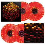 C418 - Minecraft Volume Beta [New Limited Edition Lenticular Jacket 2x 12-inch Fire-Splatter Red Vinyl LP]