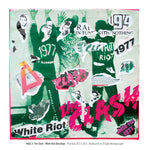 """Never Mind The Punk 45"" - The Clash - White Riot Décollage (Limited Edition Print Signed by Mal-One)"