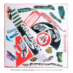 """Never Mind The Punk 45"" - Generation X - Your Generation Décollage (Limited Edition Print Signed by Mal-One)"