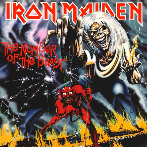 "Iron Maiden - The Number Of The Beast (12"" Vinyl)"