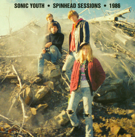 "Sonic Youth ‎– Spinhead Sessions 1986 (12"" Vinyl LP)"