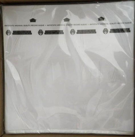 "Vinyl Guru ""MoFi"" ""Rice Paper"" Style HDPE Anti-Static Inner Sleeves for 12 inch Records"
