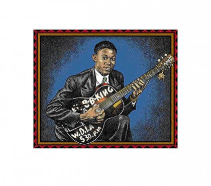 """BB King"" - BB King (Limited Edition Print Signed by BB King & Robert Crumb)"