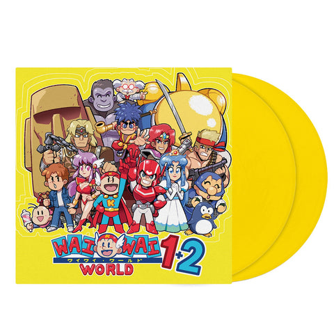 Konami Kukeiha Club - Konami Wai Wai World 1+2 [New 2x 12-inch Yellow Vinyl LP]