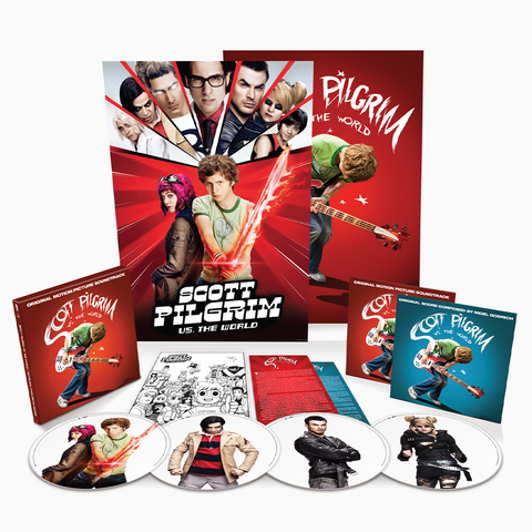 "Various Artists - Scott Pilgrim Vs. The World [10th Anniversary ""7 Evil Exes"" Limited Edition New 4x 12-inch Vinyl LP Picture Disc Box Set]"