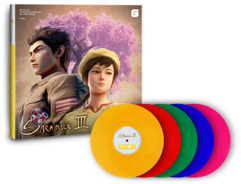 Ys Net - Shenmue III Vol. 1: Bailu Village [New 5x 12-inch Vinyl LP Box Set]