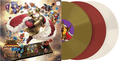 Jake Kaufman - Shovel Knight: King of Cards + Showdown - The Definitive Soundtrack [New 3x 12-inch Vinyl LP]
