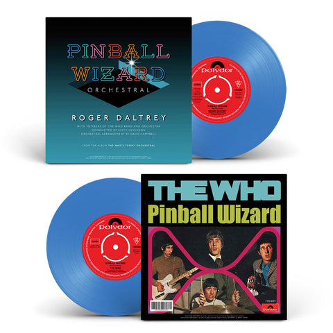 The Who - Pinball Wizard Blue Vinyl (originally exclusive to Who Pop Up Shop. 2019)