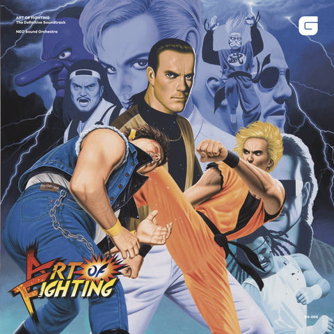 SNK NEO Sound Orchestra - ART OF FIGHTING The Definitive Soundtrack