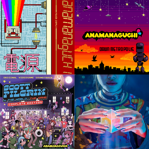 Anamanaguchi Back Catalogue Vinyl Bundle [4x New Vinyl Records]