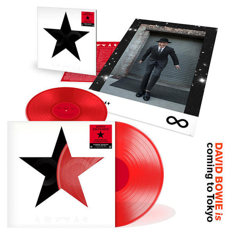 "David Bowie - Blackstar (12"" Red Vinyl Limited Edition 3 Track Single from David Bowie Is Exhibition Japan)"