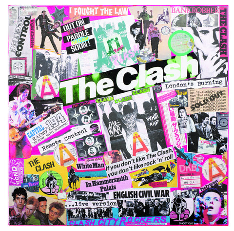 """The Class of 76"" - The Clash (Limited Edition Print Signed by Mal One)"