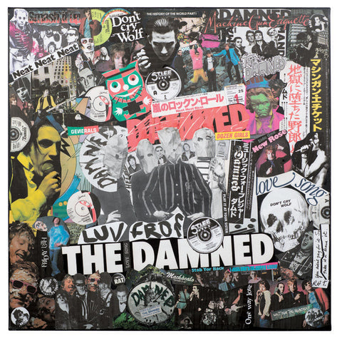 """The Class of 76"" - The Damned (Limited Edition Print Signed by Mal One)"