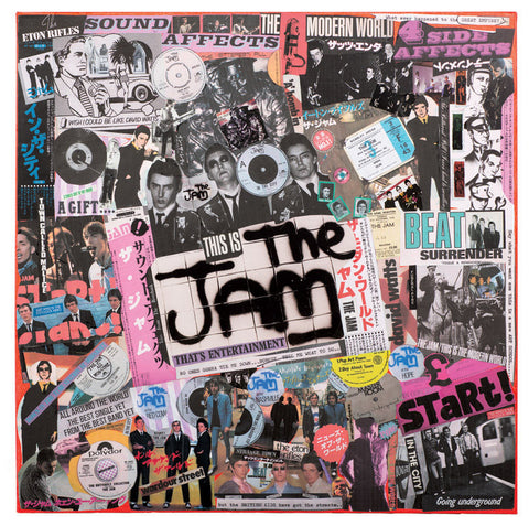 """The Class of 76"" - The Jam (Limited Edition Print Signed by Mal One)"