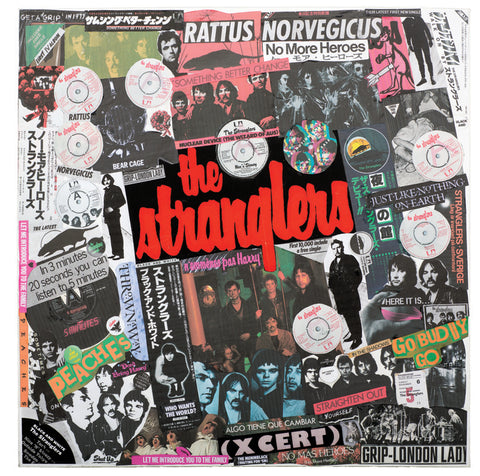 """The Class of 76"" - The Stranglers (Limited Edition Print Signed by Mal One)"
