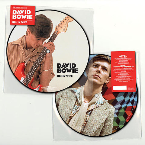 "David Bowie - Be My Wife (Limited Edition 40th Anniversary Picture Disc 7"" Vinyl)"