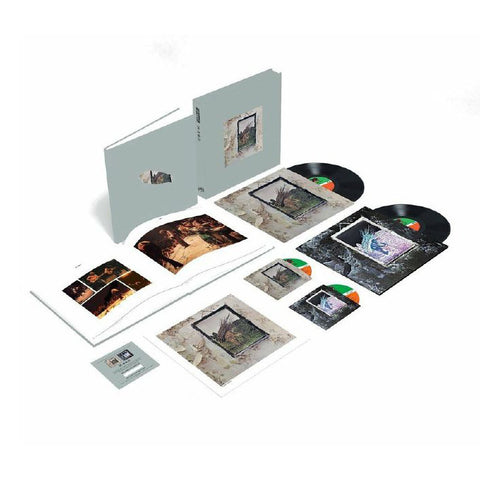 "Led Zeppelin - Led Zeppelin IV (Remastered) (12"" Vinyl + CD + Book Super Deluxe Box Set)"
