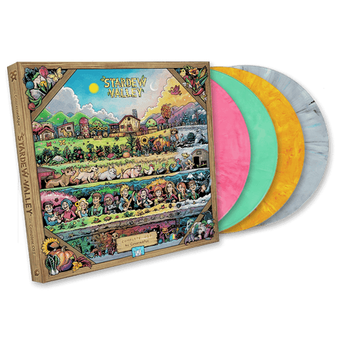 ConcernedApe - Stardew Valley [New 4x 12-inch Vinyl LP Box Set]