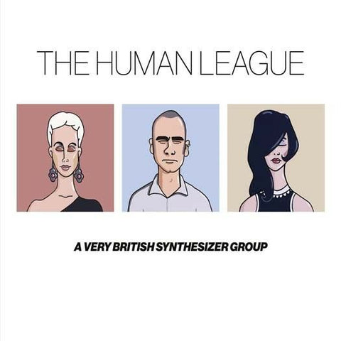 The Human League - A Very British Synthesizer Group (3xLP, Comp, 180)