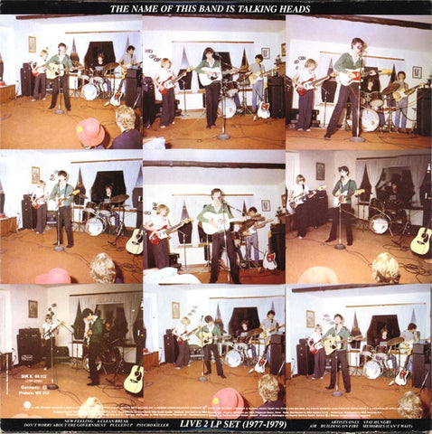 "Talking Heads - The Name Of This Band Is Talking Heads (12"" Vinyl)"