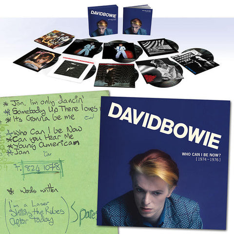 David Bowie - Who Can I Be Now? 1974-1976 (Box Set)