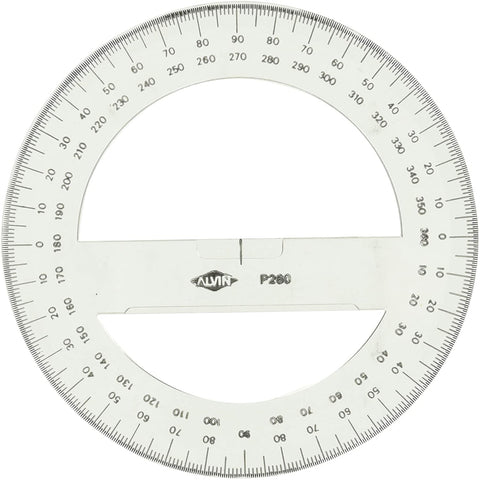 Protractor, full circle. Required for Introduction to Forestry