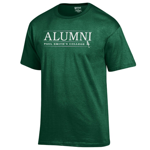 Alumni t-shirt, cotton blend, dark green