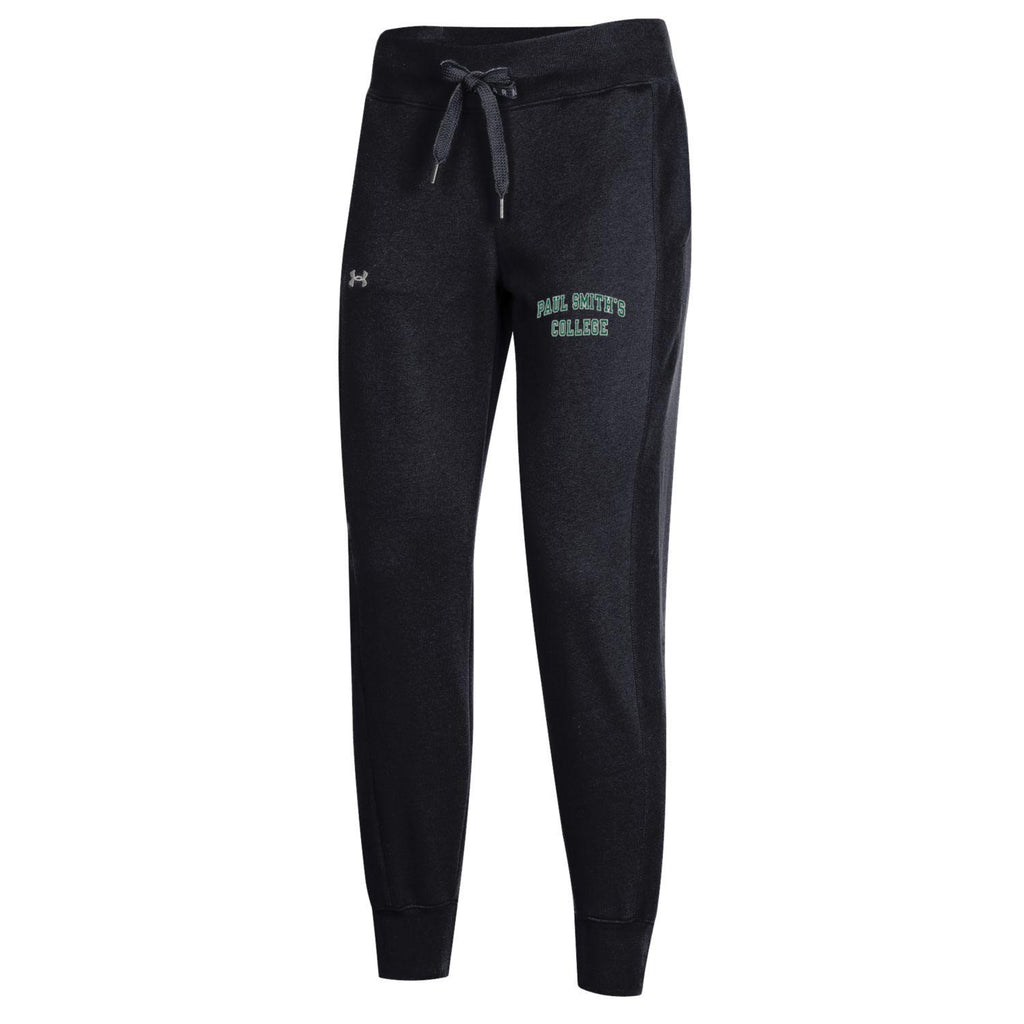 Ladies, Under Armour Jogger Pants, Black