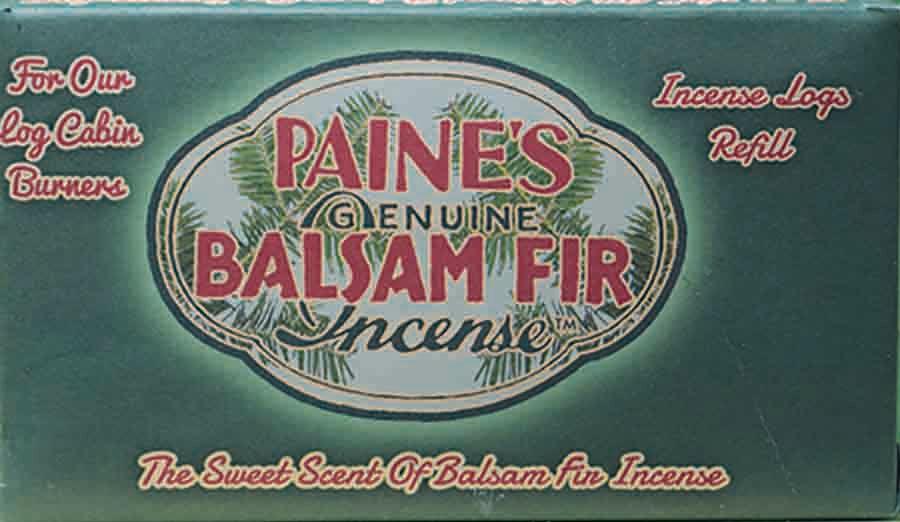 Incense, balsam log refills