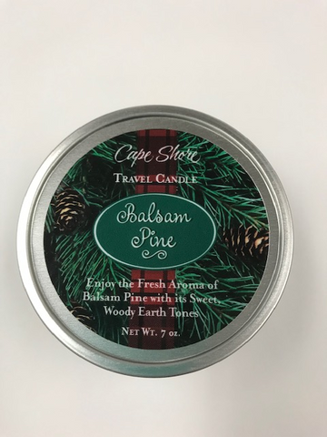 Balsam tin candle