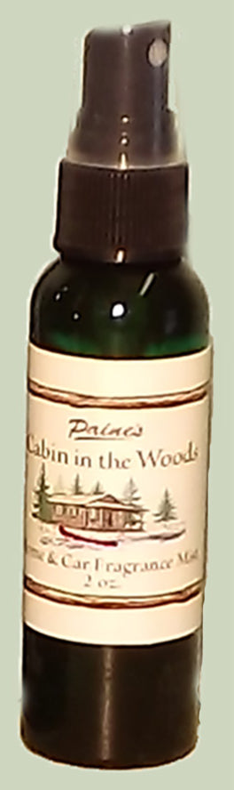 Fragrance Mist, 2 ounce : Cabin in the Woods, Mountain Lake, Cinnamon
