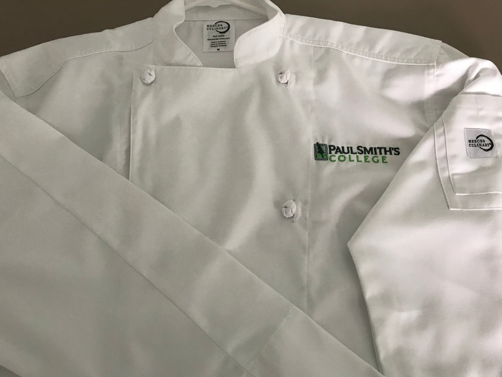 Chef Jacket Womens, this style runs very small, order up one or two sizes