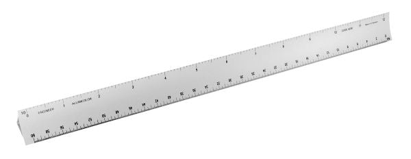 Engineer Scale, 12 inch metal