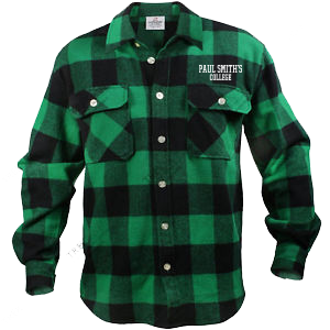 Flannel Shirt, green plaid