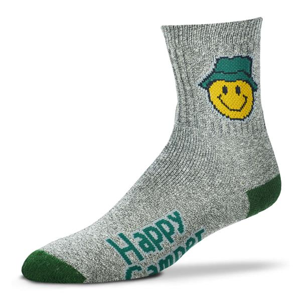 Socks, Mens Large, Happy Camper