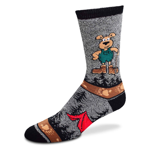 Socks, Ladies Medium, Hiking Bear