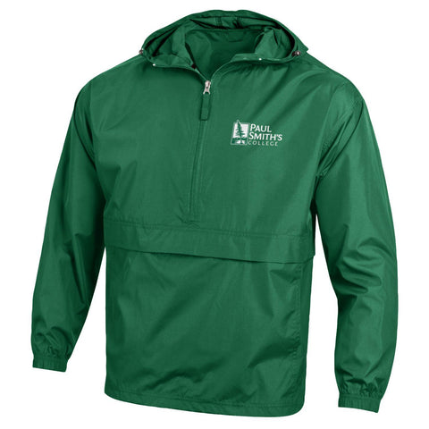 Windbreaker, dark green by Champion