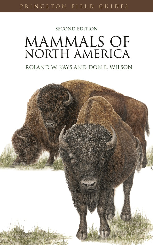 Mammals of North America --  recommended for Fish and Wildlife students