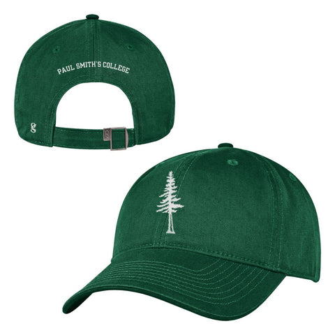 Hat, with tree on front