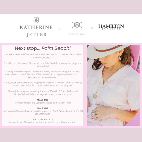 Katherine Jetter x The Vault Nantucket x Hamilton Jewelers