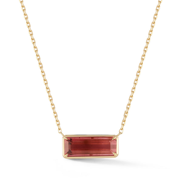 Large Rubellite Necklace