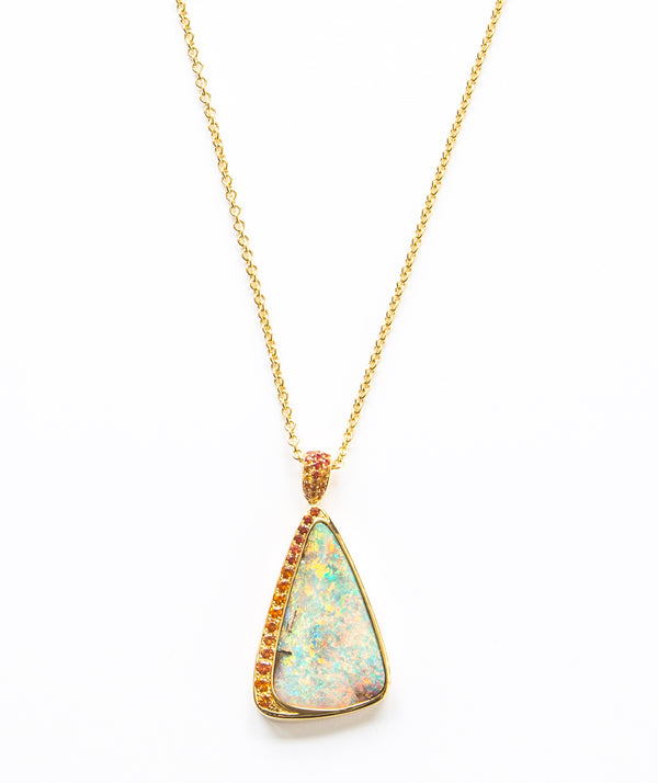 Opal Pastel Sunset Collection Pendant