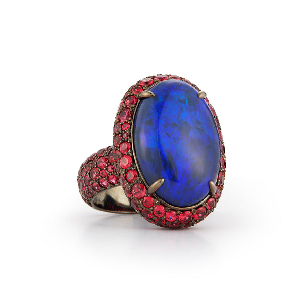 Miss Scarlett Opal Ring