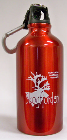 Norwegian Village Aluminum Water Bottle 500 ML
