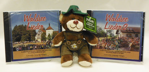 Music of Waldsee Leiders 1 & 2 with Bear or Hedgehog
