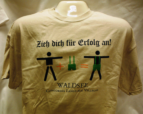 "Waldsee ""Dress for Success"" T-Shirt"