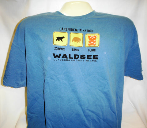"Waldsee ""Bear Identification"" T-shirt"