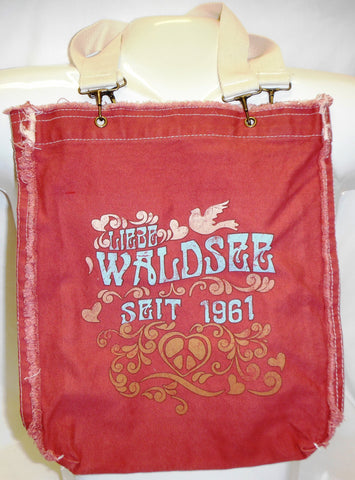 Waldsee Ragged Edge Tote Bag