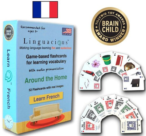 Linguacious Flash Cards - French