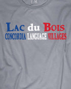Lac du Bois 3 Color Words Tee - Unisex